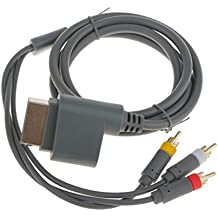 Generic - Cable por componentes para Microsoft Xbox 360 (audio/video HD)