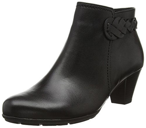Gabor Shoes Basic, Stivaletti Donna, Nero (Schwarz 27), 41 EU