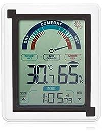 Neekkip zezego termometro-Nuova Temperatura y Humedad LCD Touch Reloj Electrónico de Pulsera Temperatura Interior