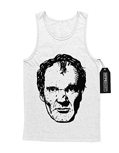 Tank-Top Quentin Tarantino C549349 Weiß (Kostüm Kill Kinder Bill)