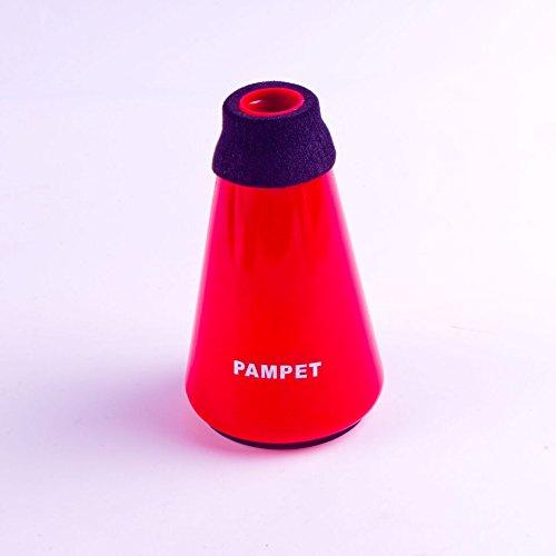 pampet leicht Praxis Trompete Dämpfer Schalldämpfer & #-; Trompete Straight Mute rot