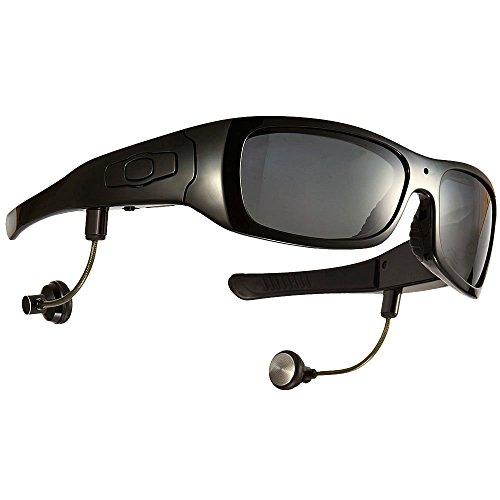 JOYCAM Bluetooth Sonnenbrille Kamera Brille Cam Polarisierte UV400 Gläser HD 720P Video Recorder mit Abnehmbaren Lautsprechern (Brille Video Recorder)