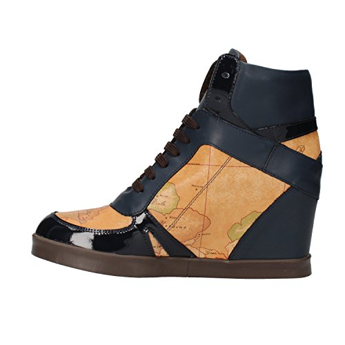 1 CLASSE ALVIERO MARTINI sneakers donna nero beige / blu beige (38 EU, Blu/beige)