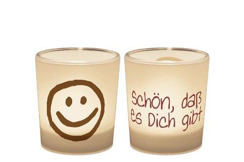 Ein Licht für Dich :-) Teelichthalter Schön, dass es Dich gibt