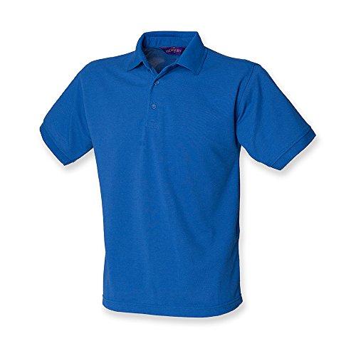HenburyHerren Poloshirt Mehrfarbig - Royal