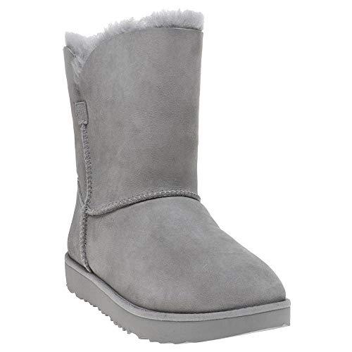 UGG® Classic Short Cuff Damen Stiefel Grau (39 EU, Grau) (Short Womens Ugg Boot)