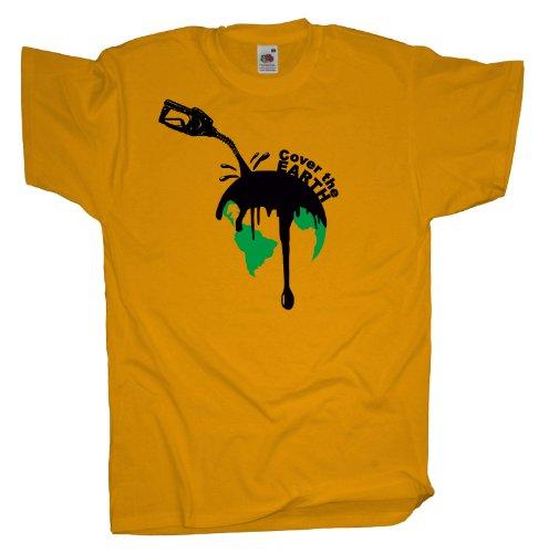 Ma2ca - Schütze die Erde - T-Shirt Sunflower