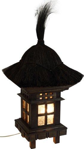 42dd4a5883e35 Guru-Shop Lampe de Jardin Bali Avec Câble D`extérieur - Modèle 1