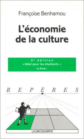 Economie de la culture