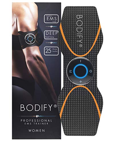 Bodify® EMS Trainingsgerät zur gezielten Stimulation der Arm & Bein Muskulatur! - Muskelaufbau - EMS Trainer - Elektro Stimulationsgerät Muskeln - EMS Fitness Training DAS ORIGINAL