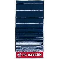 FC Bayern München Serviette de douche Bleu marine