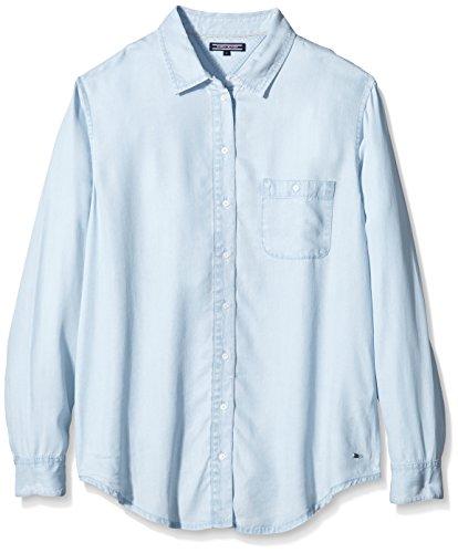 Tommy Hilfiger - Camicia - largo - Maniche lunghe  -  donna Blu Blue (Kaya)