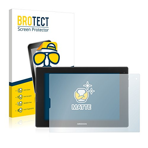 BROTECT Entspiegelungs-Schutzfolie kompatibel mit Medion Lifetab P8912 (MD 99631) (2 Stück) - Anti-Reflex, Matt