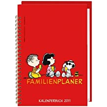 Peanuts Familienplaner Buch 2011