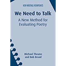 We Need to Talk: A New Method for Evaluating Poetry