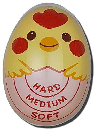 Eieruhr mit Farbwechsel, freche Küken für Ei, perfekt harte, mittelweiche gekochte Eier