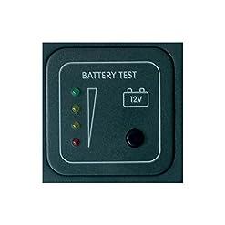 CBE – Pannello Test Batterie MTB/G CBE 12V con LED Controllo Tensione Batteria Camper – MTB/G
