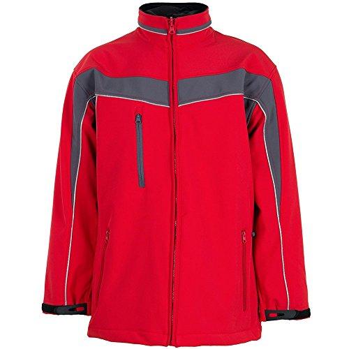 plaline travail Vêtements Veste softshell Bleuet/marine rouge/ardoise