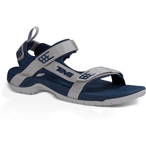 Teva - Tanza C's, sandali sportivi da unisex bambino Navy Grey