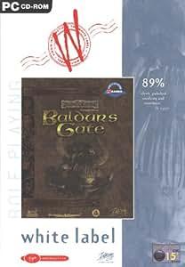 Baldur's Gate - White Label Range (PC CD)