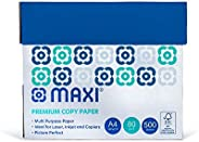 MAXI PHOTO COPY PAPER A4 80GSM 500SHEETSX5BOX