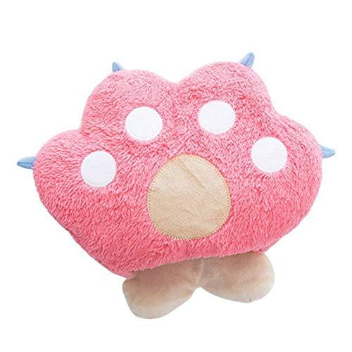 Zzib nuovo comodo sveglio riscaldata fumetto tappetino mouse elettrici riscaldamento mouse pad inverno scaldamani (color : pink)