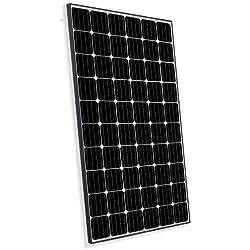 Panneau Solaire Photovoltaïque 300W Monocristallin adaptés aux installations sur la Maison Chalet Caravane Campeur
