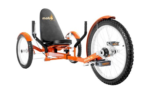 "MOBO Cruiser ""Triton Pro"" Liegefahrrad Dreirad - Orange"