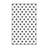 Vaessen Creative Mini Carpeta de Embossing, Estrellas, para Agregar Textura y Dimensión a Páginas de Scrapbook, Tarjetas y Otras Manualidades de Papel, 7,6 x 12,7 cm