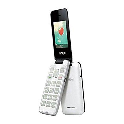 ALCATEL IBERIA 20.51D PURE WHITE GSM 2.4IN QVGA 8MB RAM 2 MPX IN