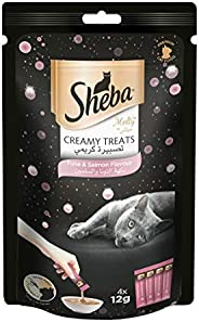 SHEBA Melty Tuna & Salmon Flavor 48g (12gx4sac