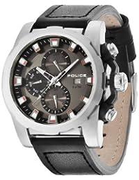 Police Herren-Armbanduhr XL SPEEDSTER Analog Quarz Leder PL.13928JS/61