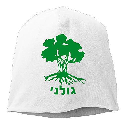 Paint0 Men & Women Cap Golani Brigade IDF Israeli Defence Force Warm Mountain Climbing Warm Knit Beanie Skull Cap Cuff Beanie Hat Knit Hat/Cap Ash