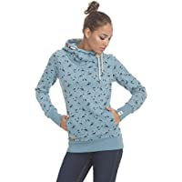 Frauen Pullover Ragwear Beat Print Organic blue melange