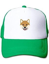 uykjuykj Baseball Caps Hats Adult Unisex cap Shiba Inu Dog Mesh Caps Dad cap  Baseball Caps 1c1ccc4ef7a