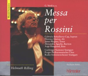 Preisvergleich Produktbild Verdi;Messa Per Rossini