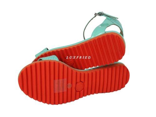Armani V55G4, Scarpe con cinturino alla caviglia donna Verde (mint-orange)