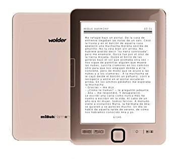 EBOOK MIBUK HARMONY 6 (E-INK PEARL  8 GB  1 500 MAH  142G) EREADER COLOR ROSA