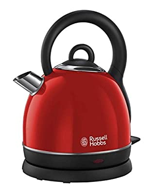 Russell Hobbs - 19192 - Bouilloire sans fil Westminster 1,8L 3000 W - Rouge