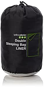 Yellowstone Double Sleeping Bag Liner - Multi-Colour