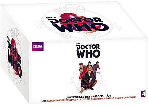 COFFRET 2017 l'intégrale DOCTEUR WHO SAISONS 1 à 9 + 2 épisodes spéciaux + en bonus : les secrets du docteur enfin révélés !