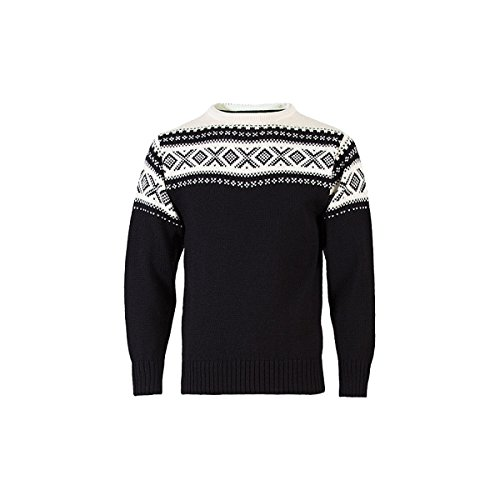 Dale of Norway Cortina 1956 adulto Jumper, black / white, L