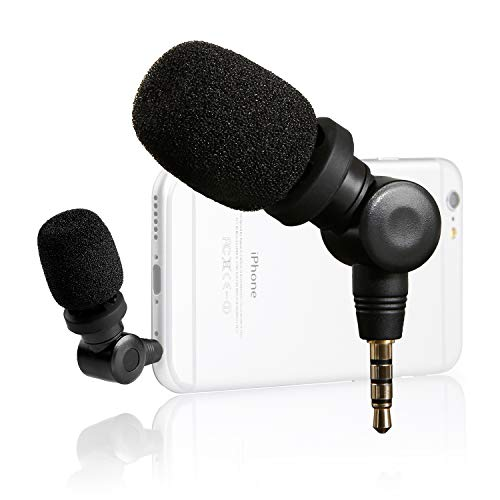 Saramonic Smartmic mini condensatore microfono flessibile con alta sensibilità per dispositivi Apple IOS, ad es. iPhone 8 Plus, 7, 6 Plus, iPad, iPod