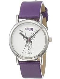 Gully by Timex Linked Analog White Dial Women's Watch-TW000U604