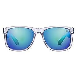 61d7ea9fc19 50%off Tom Martin UV-400 Protected Sunglasses -Hawaii- New Wayfarer- Clear  (Mirrored