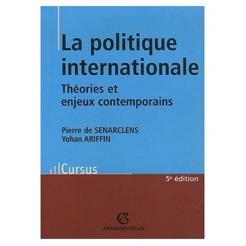 La politique internationale : Théorie et enjeux contemporains