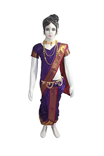 Lavni Saree online for Girl;Marathi Girl Saree; Maharashtrian traditional Dress; Laxmibai Saree...