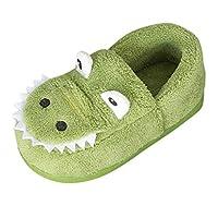 Muium 2019 New Newborn Toddler Boys Girls Dinosaur Slippers Fluffy Warm Home Slipper Baby Winter Booties 6-12 Months