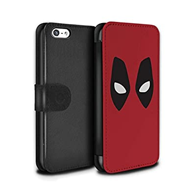 STUFF4 PU Leather Case/Cover/Wallet / IP-PSW / Super Hero Comic Art Collection from Stuff4