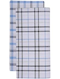 MEG Men's Cotton Lungi (Multi-Coloured, Pack of 2)